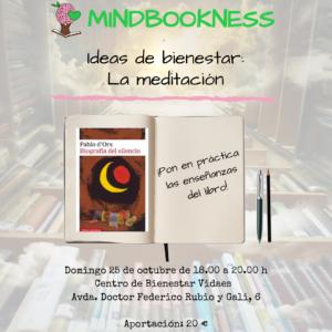 taller mindbookness biografía del silencio vidaes octubre 2020